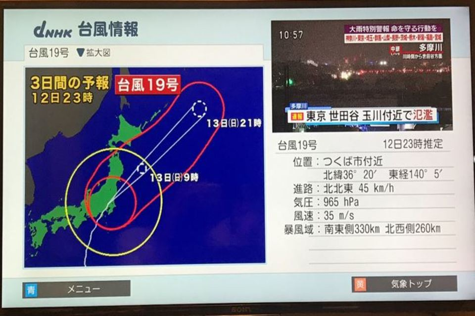 Typhoons in Japan: Cultural Differences from a Taiwanese Perspective